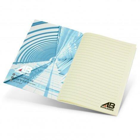 Camri Full Colour Notebook 118181 With Full Colour Branding Inside