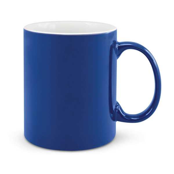 Can Ceramic Coffee Mugs Dark Blue