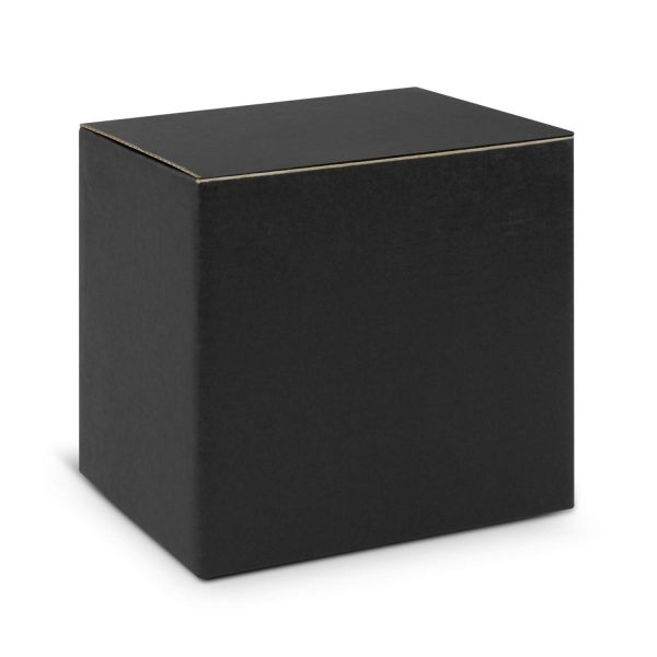 Can Ceramic Coffee Mugs Gift Box Black