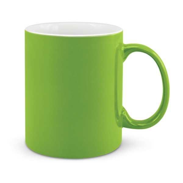 Can Ceramic Coffee Mugs Lime Green