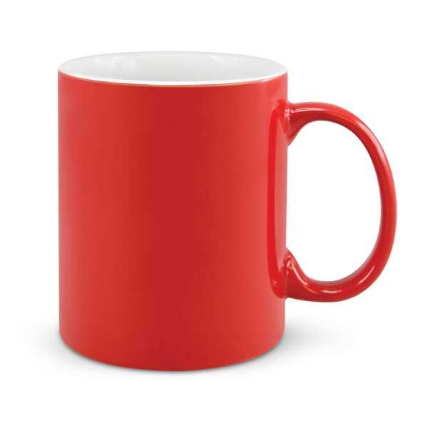 Can Ceramic Coffee Mugs Red