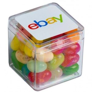 Candy in Hard Cube Jelly Beans 60g CACC013LHARD Various