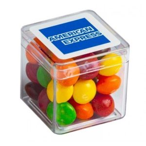 Candy in Hard Cube Skittles 60g CACC013NHARD VArious