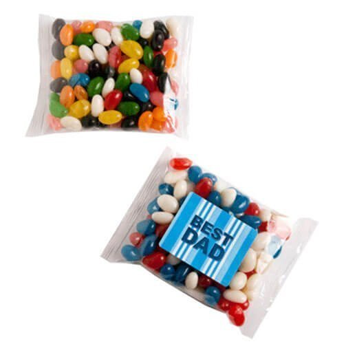 Candy in Packets Jelly Beans 100g CACC033E Clear