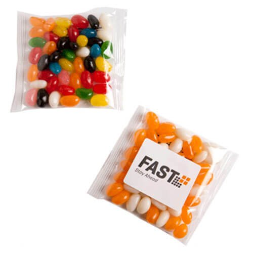 Candy in Packets Jelly Beans 50g CACC033C Clear