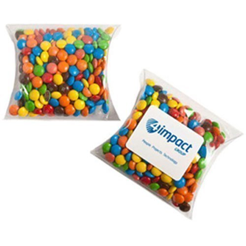 Candy in Pillow Packs MMs 100g CACC018J Clear