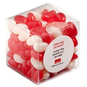 Candy in Soft Cube Jelly Beans 110g CACC013E Various Colours
