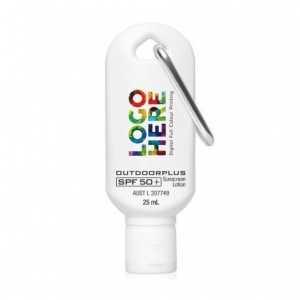 Carabiner Sunscreen 25ML SPF 50 L473 White