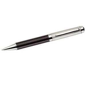 Carbon Fibre Ballpoint Pen 696BK Black e1622614664429