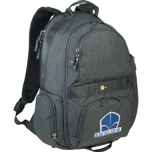 Case Logic Berkeley Laptop Backpack CL1003GY Charcoal Front