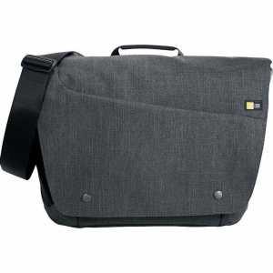 Case Logic Reflexion Compu Messenger Conference Satchel Bag CL1004GY Grey