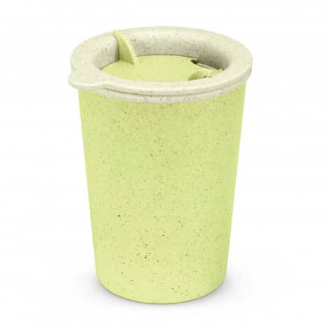 Choice Reusable Coffee Cup Logo Promotional Reusable Coffee Cup Green 113586