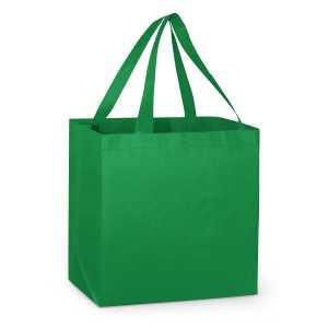 City Shopper Tote Bag 109931 Green