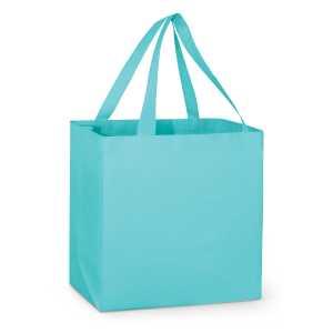 City Shopper Tote Bag 109931 Light Blue
