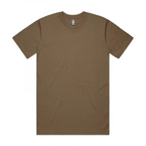Classic T Shirts Unisex 5026 Brown