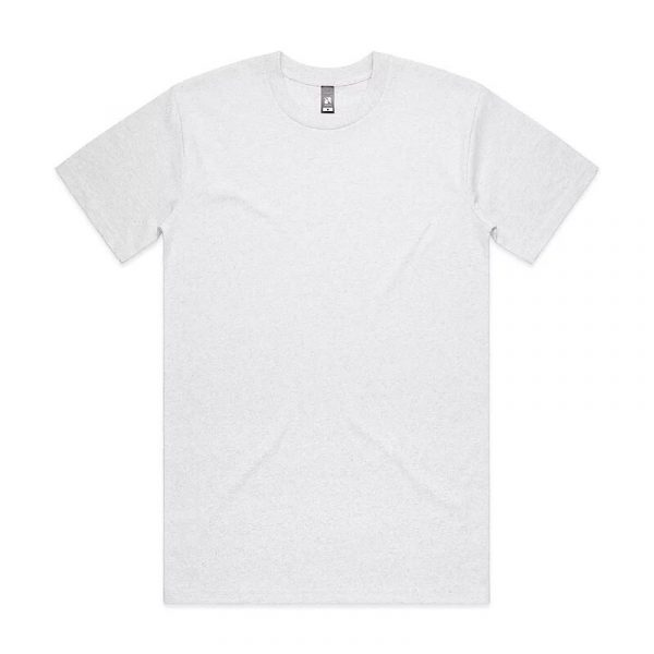 Classic T Shirts Unisex 5026 Marle White