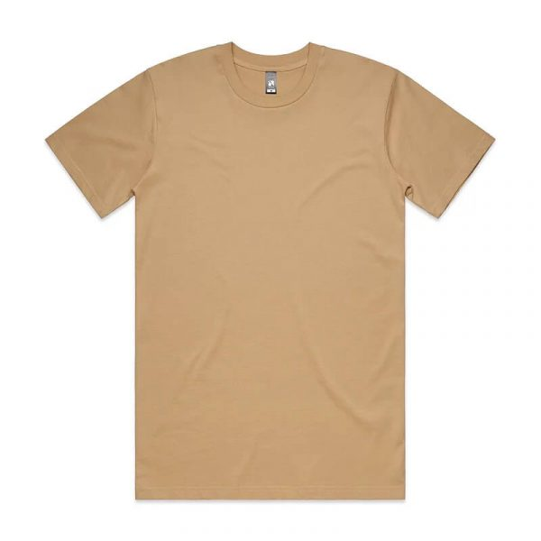 Classic T Shirts Unisex 5026 Tan
