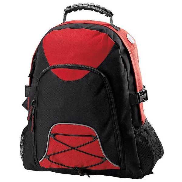 Climber Backpack B207 Black Red