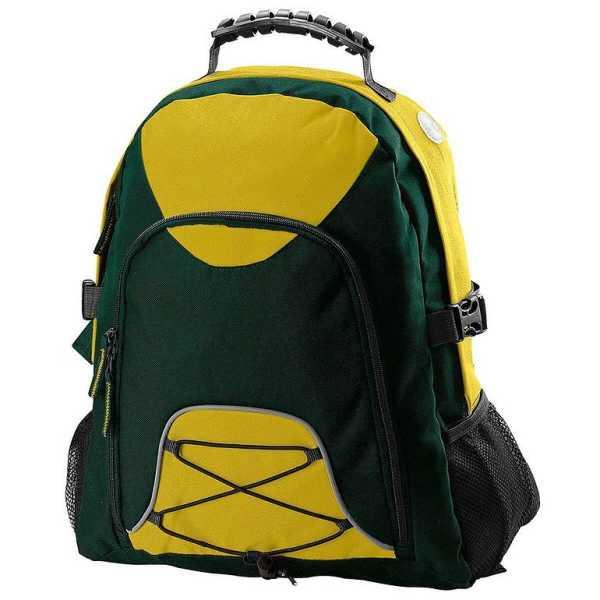 Climber Backpack B207 Green Yellow