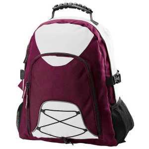Climber Backpack B207 Maroon White