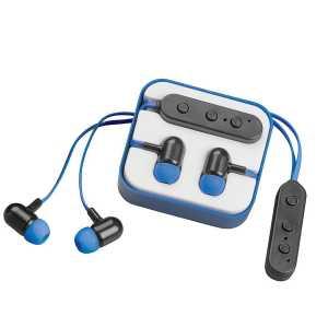 Colourpop Bluetooth Earbuds CA9673BL Blue in Case
