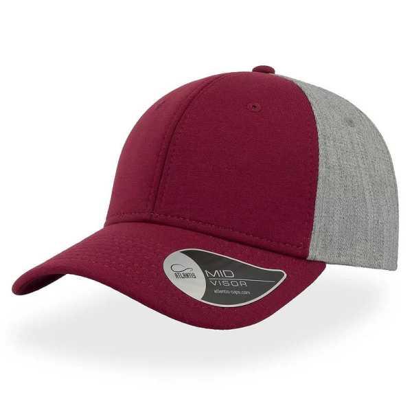 Contest Cap A1250 Maroon Grey