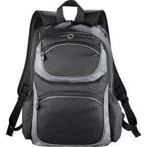 Continental Checkpoint Friendly Compu Backpack 5160BK Black Front