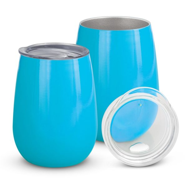 Cordial Reuasable Coffee Vacuum Cup 113876 Light Blue