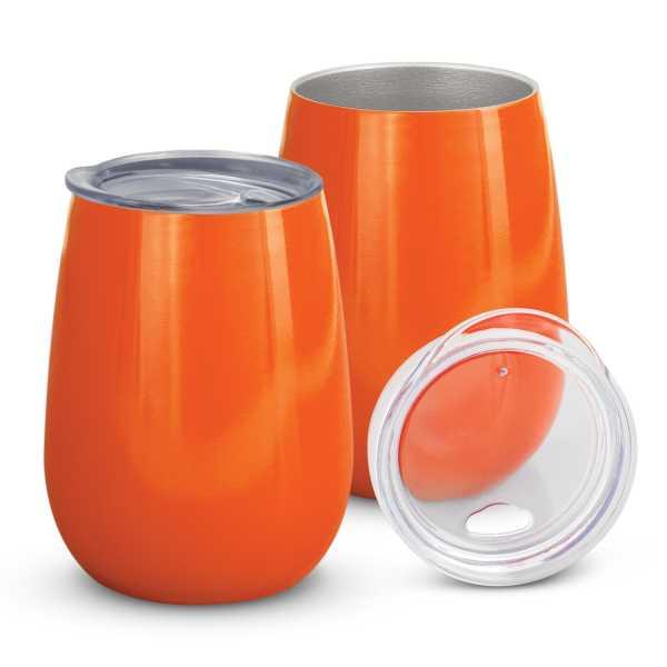 Cordial Reuasable Coffee Vacuum Cup 113876 Orange