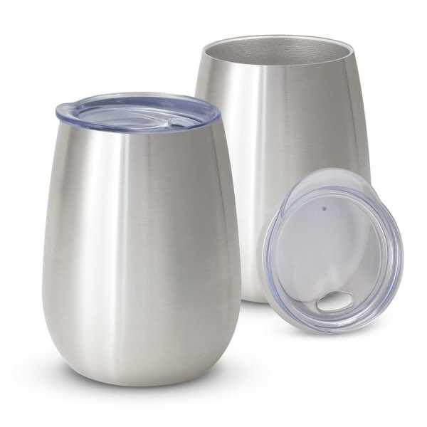 Cordial Reuasable Coffee Vacuum Cup 113876 Silver