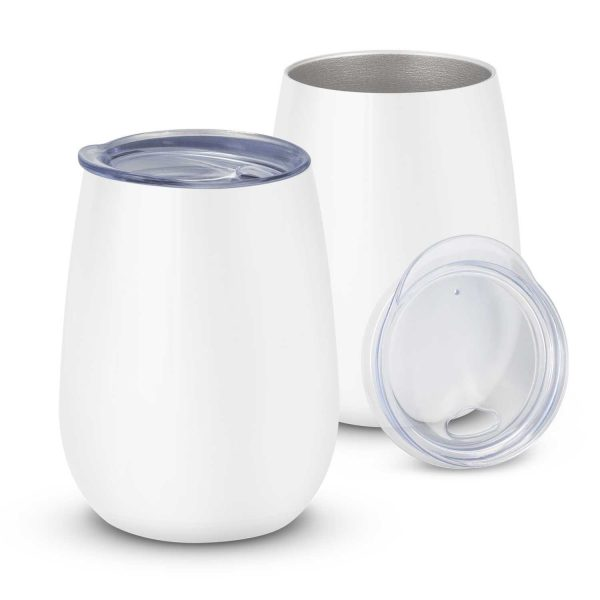 Cordial Reuasable Coffee Vacuum Cup 113876 White