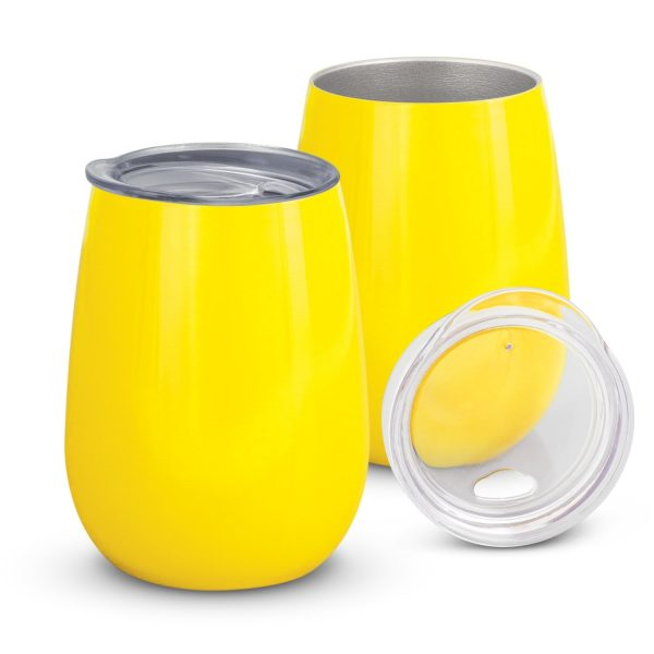 Cordial Reuasable Coffee Vacuum Cup 113876 Yellow