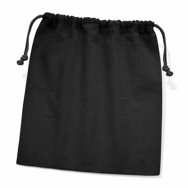 Cotton Gift Bag Large 111806 Black