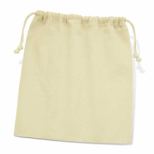 Cotton Gift Bag Large 111806 Cream