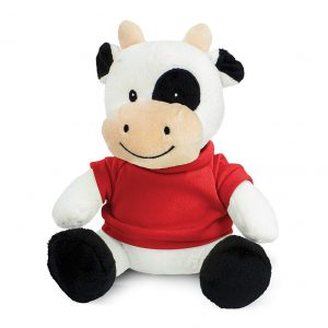 Cow Plush Toy CA117009 Red