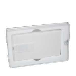 Credit Card Box for USB Flash Drives USBBOX5 AUWH White