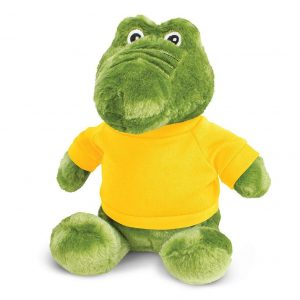 Crocodile Plush Toy CA117008 Yellow