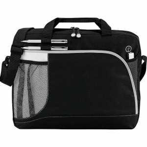 Crunch Briefcase Conference Messenger Satchel 5067BK Black