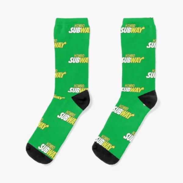 Custom Cotton Socks 11000 Green