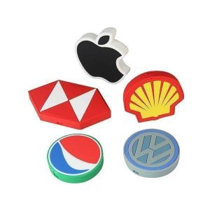 Custom Shaped PVC Wireless Charger CAPCT035 Various shapes 2