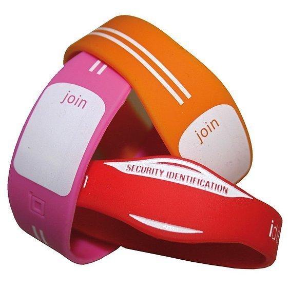 Custom Silicon Wristbands SIL 102 Various