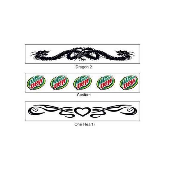 Custom Temporary Tattoos Armband CAWTAB03 Various