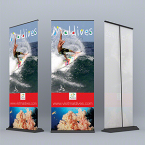 Deluxe Pull Up Banner CA101 Various