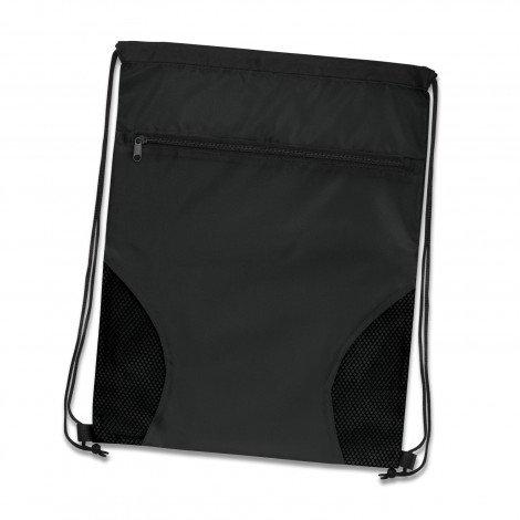 Dodger Drawstring Backpack Black