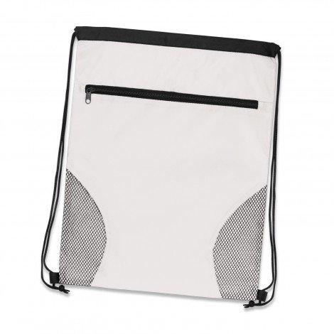 Dodger Drawstring Backpack White