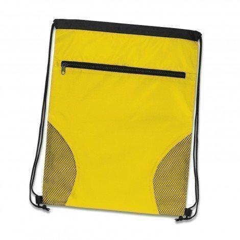 Dodger Drawstring Backpack Yellow
