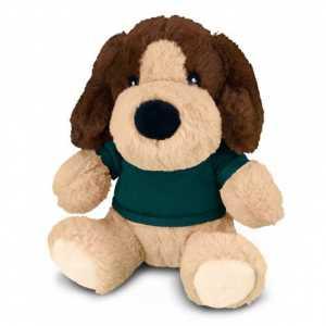 Dog Plush Toy CA117872 Grey