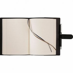 Dovana Large JournalBook CA9137BK Black