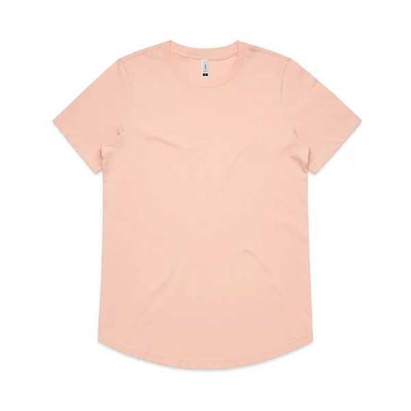 Drop T Shirts Womans 4052 Pink