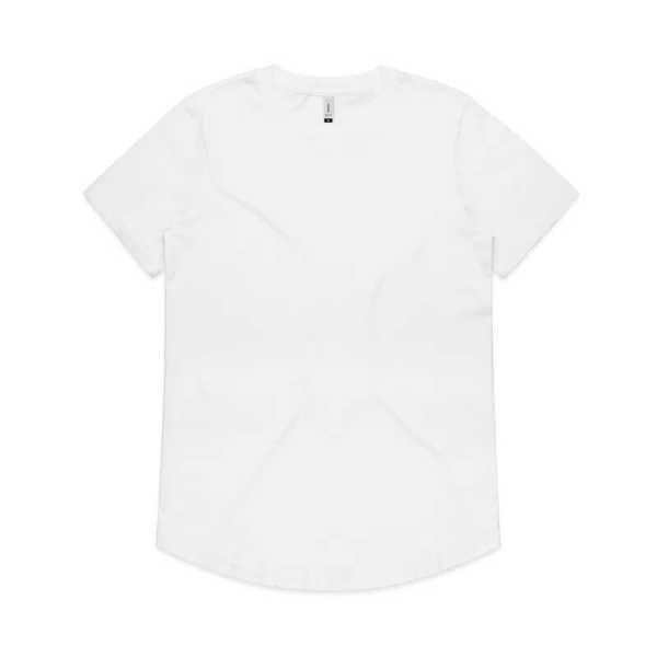 Drop T Shirts Womans 4052 White